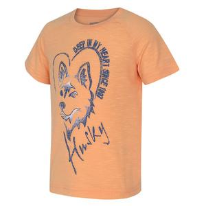 Dětské triko Husky Zingl Kids lososová, Husky