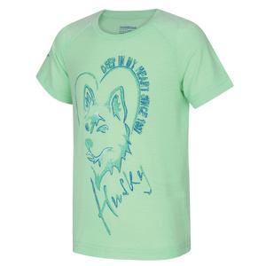 Dětské triko Husky Zingl Kids sv. mátová, Husky