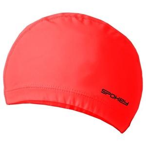 Dvouvrstvá plavecká čepice Spokey TORPEDO červená, Spokey
