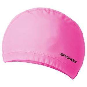 Dvouvrstvá plavecká čepice Spokey TORPEDO růžová, Spokey