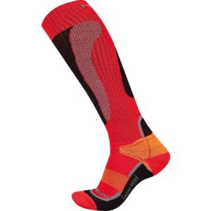 Ponožky Husky Snow Wool červená