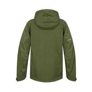 Pánská hardshellová bunda Husky Nicker M tm.zelená, Husky