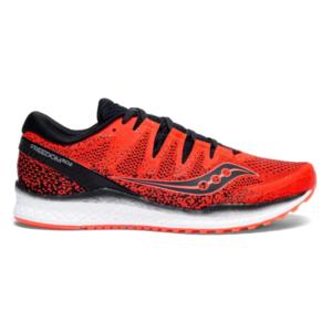 Pánské běžecké boty Saucony Freedom Iso 2 Viz Red/Blk, Saucony