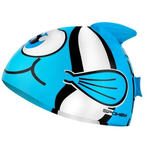 Dětská plavecká čepice Spokey RYBKA tyrkysová, Spokey