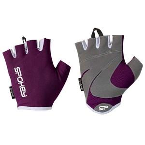 Dámské fitness rukavice Spokey LADY FIT vínové, Spokey