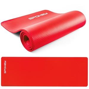 Podložka na cvičení Spokey SOFTMAT červená 1,5 cm , Spokey