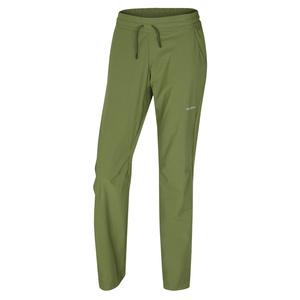 Dámské softshellové kalhoty Husky Speedy Long L tm.zelená, Husky