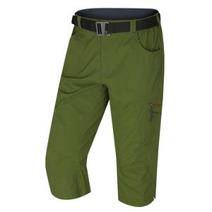 Pánské 3/4 kalhoty Klery M tm. zelená, Husky