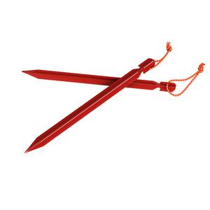 Stanové kolíky Husky Dural odlehčené červená