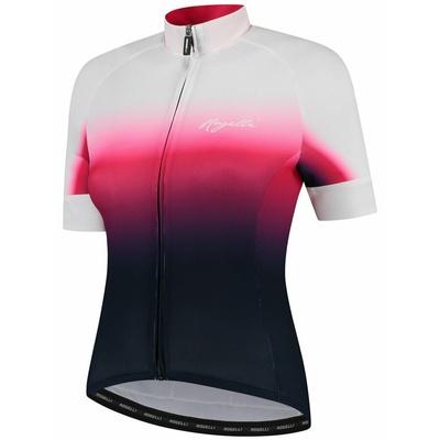 Dámský prémiový cyklodres Rogelli DREAM s krátkým rukávem, modro-růžovo-bílý 010.091, Rogelli