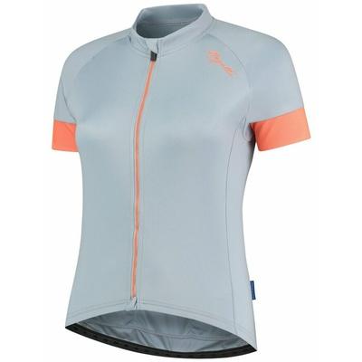 Dámský cyklistický dres Rogelli MODESTA s krátkým rukávem, šedo-modro-korálový 010.109, Rogelli