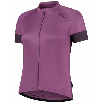 Dámský cyklistický dres Rogelli MODESTA s krátkým rukávem, fialový 010.119