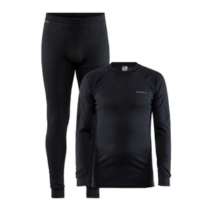 Set CRAFT CORE Dry Baselayer 1909707-999000 - černá