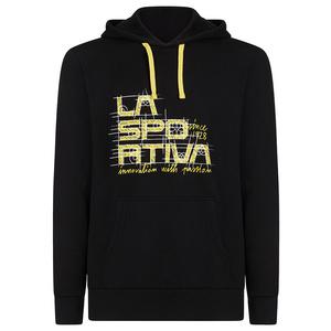 Pánská mikina La Sportiva Project Hoody black/yellow, La Sportiva