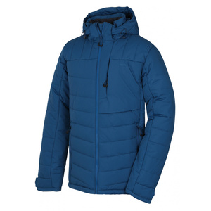 Pánská plněná zimní bunda Husky Norel M tl. tm. modrá, Husky