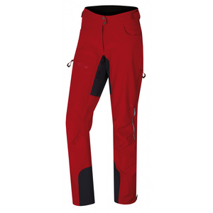 Dámské softshell kalhoty Husky Keson L červená