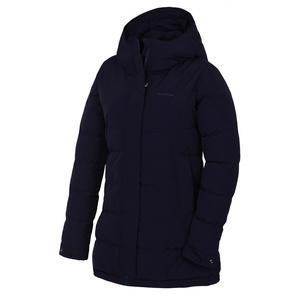 Dámský hardshell plněný kabátek Husky Nilit L tm. modrofialová