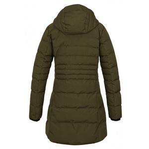 Dámský hardshell plněný kabátek Husky Normy L tm. khaki, Husky