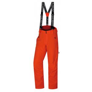 Pánské lyžařské kalhoty Husky Mitaly M neonově oranžová, Husky