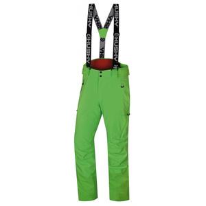 Pánské lyžařské kalhoty Husky Mitaly M neonově zelená, Husky