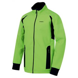 Pánská softshell bunda Husky Scooby M neonově zelená