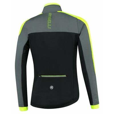 Pánská zimní bunda Rogelli Freeze černo-šedo-reflexní žlutá ROG351020, Rogelli