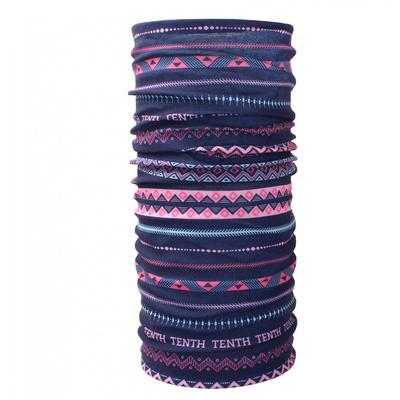 multifunkční šátek   Husky Printemp pink triangle stripes
