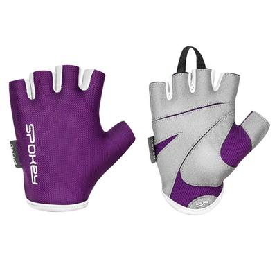 Spokey LADY FIT Dámské fitness rukavice, fialové, vel-L, Spokey