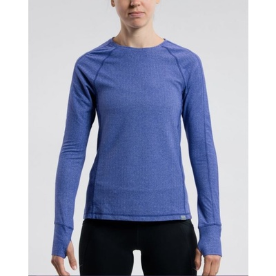Saucony Women Brisk Long Sleeve Indigo