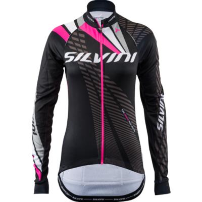 Dámský zateplený dres Silvini Team WD1403 black, Silvini