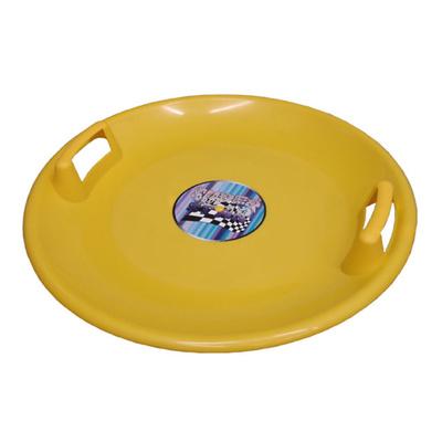 Sáňkovací talíř Acra Superstar 60 CM žlutý, Acra