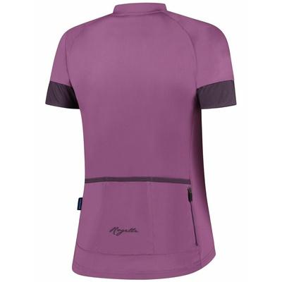 Dámský cyklistický dres Rogelli MODESTA s krátkým rukávem, fialový 010.119, Rogelli