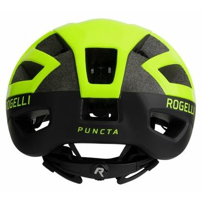 Helma Rogelli PUNCTA černá-reflexní žlutá ROG351056, Rogelli