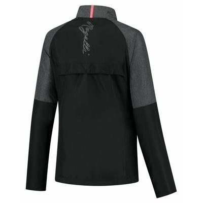 Dámská běžecká větrovka Rogelli Enjoy černo-šedo-růžová ROG351112, Rogelli