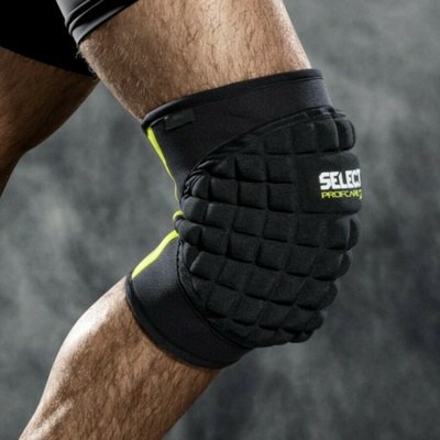Chrániče na kolena Select Knee support w/big pad 6205 černá, Select