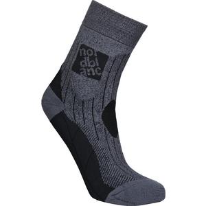 Kompresní sportovní ponožky NORDBLANC Starch NBSX16379_GRM, Nordblanc