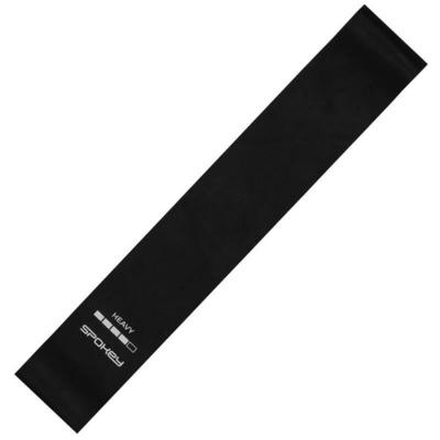 Spokey ARTIO II fitness guma černá, heavy, Spokey
