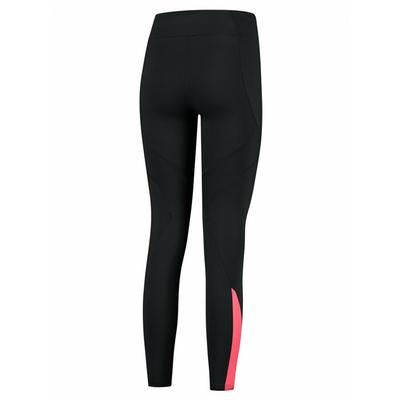 Dámské zateplené běžecké kalhoty Rogelli Enjoy černo-šedo-růžové ROG351108, Rogelli