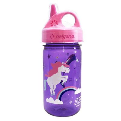 Láhev Nalgene Grip and Gulp purple/pink unicorn, Nalgene