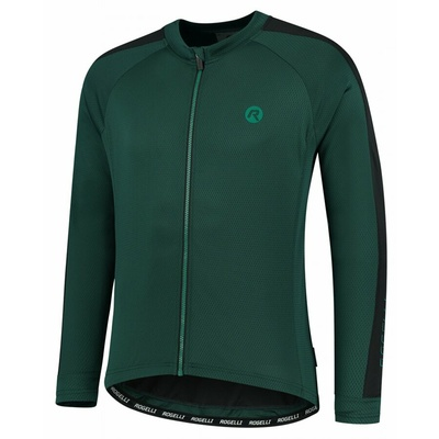 Pánský cyklistický dres bez zateplení Rogelli Explore zeleno-černý ROG351003, Rogelli