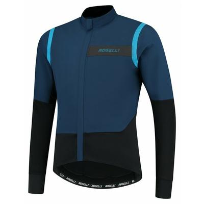 Pánská ultralehká cyklobunda Rogelli Infinite modro-černá ROG351049, Rogelli