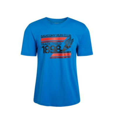 Pánské tričko Saucony Blue