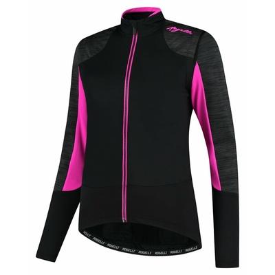 Dámská zimní bunda Rogelli Glory černá-šedá-růžová ROG351078, Rogelli