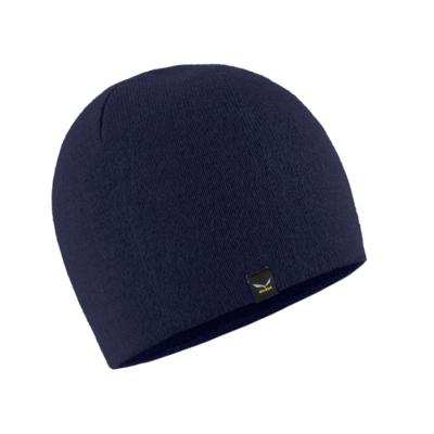 Zimní čepice Salewa Sella Ski Beanie navy blazer 28171-3960, Salewa