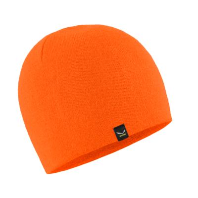 Zimní čepice Salewa Sella Ski Beanie fluo orange 28171-4570, Salewa