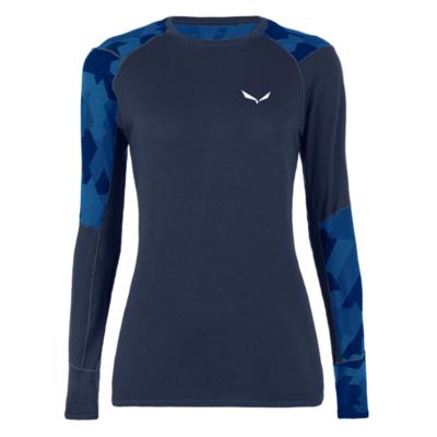Dámské termo tričko Salewa Cristallo Warm Merino navy blazer 28206-3960, Salewa