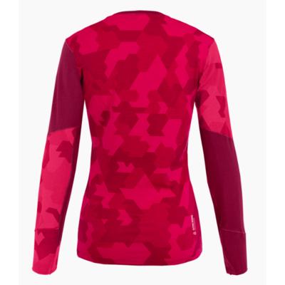 Dámské termo tričko Salewa Cristallo Warm Merino rhodo red 28206-6360, Salewa