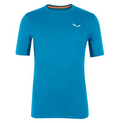 Pánské termo tričko Salewa Cristallo warm merino responsive cloisonne blue 28207-8660, Salewa