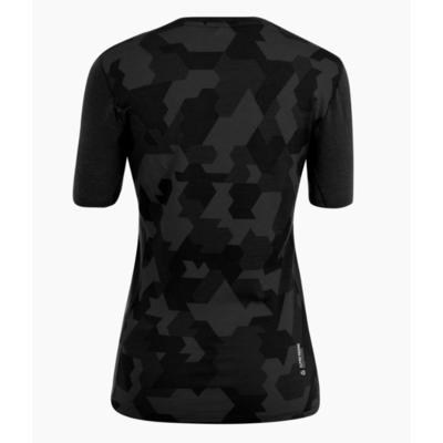 Dámské termo tričko Salewa Cristallo warm merino responsive black out 28208-0910, Salewa