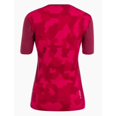 Dámské termo tričko Salewa Cristallo warm merino responsive rhodo red 28208-6360, Salewa